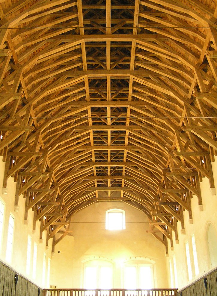 File Hammerbeam Roof Stirling Castle Jpg Wikimedia Commons