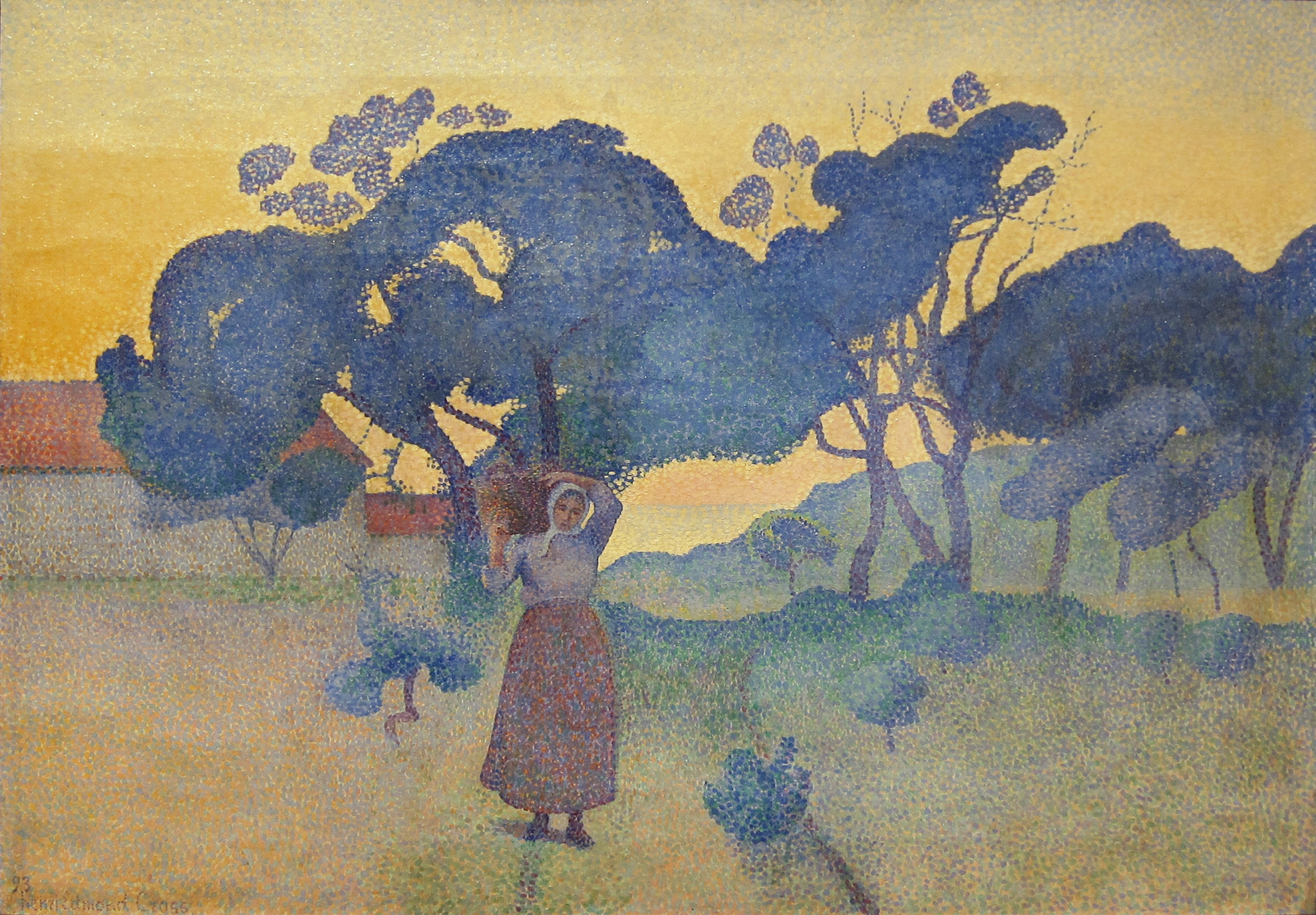 Print Henri Edmond Neo Impressionism Cross 3