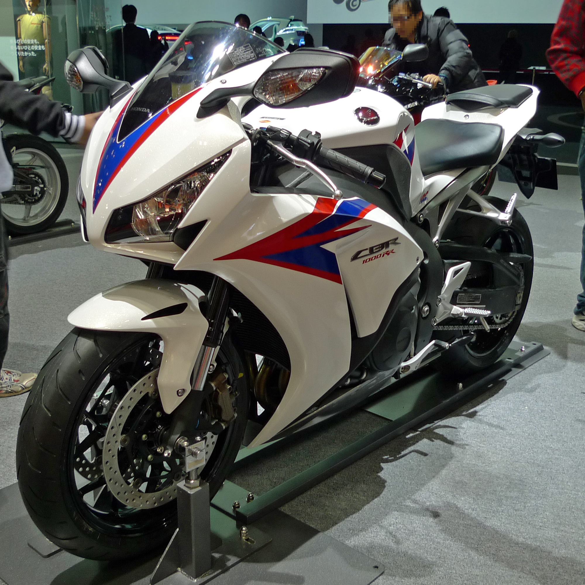 File Honda Cbr1000rr Front 2011 Tokyo Motor Show Jpg