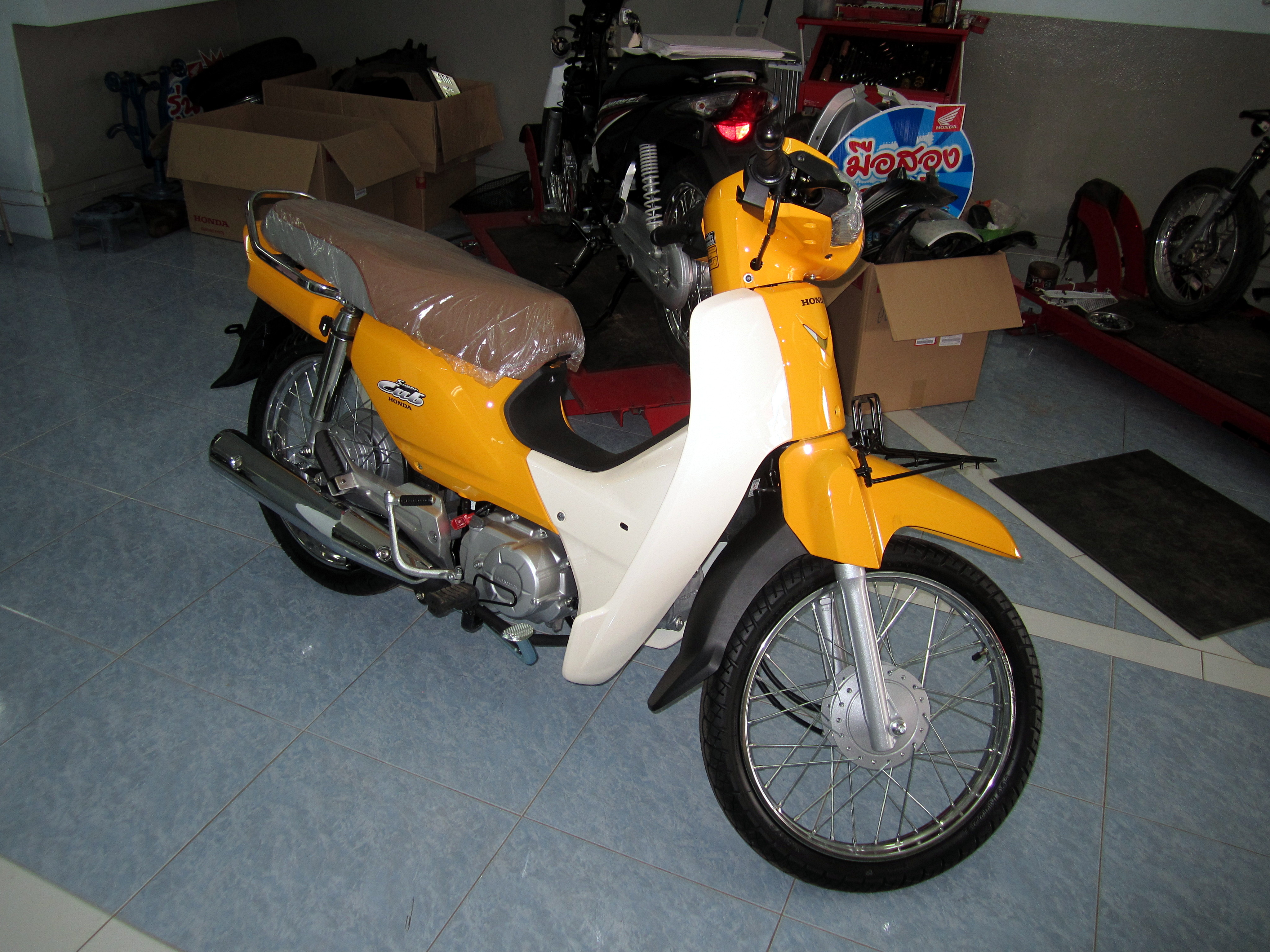 File Honda Dream 110i Super Cub Nd110m 2014 Jpg Wikimedia Commons