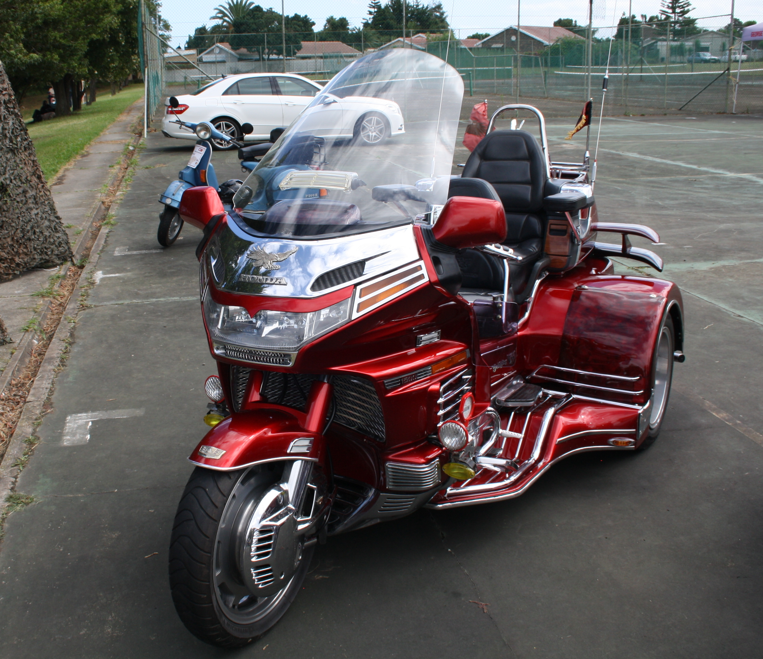 New Honda Goldwing