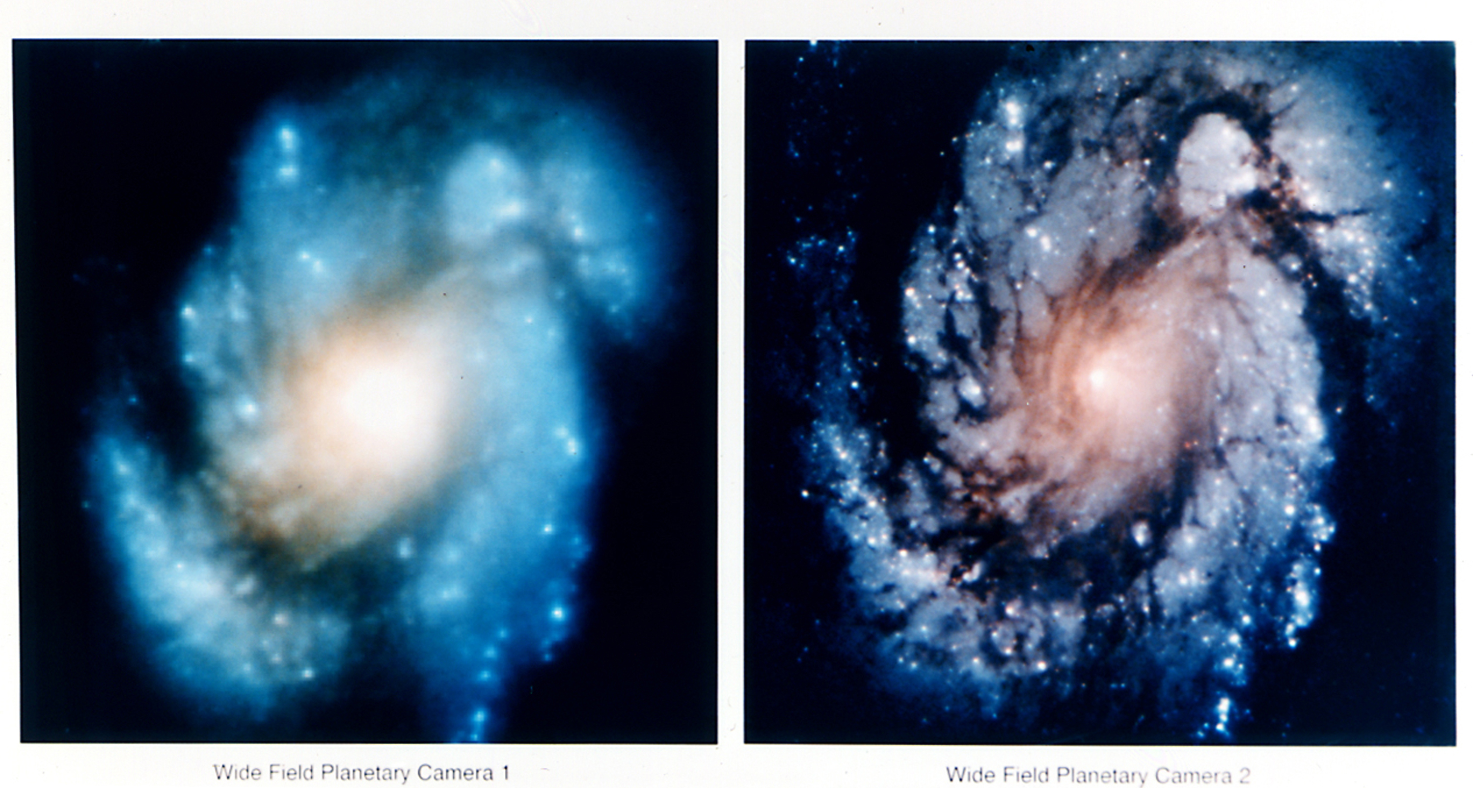 Hubble Images of M100 Before and After Mirror Repair - GPN-2002-000064.jpg