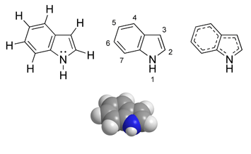 Archivo:Indole chemical structure.png