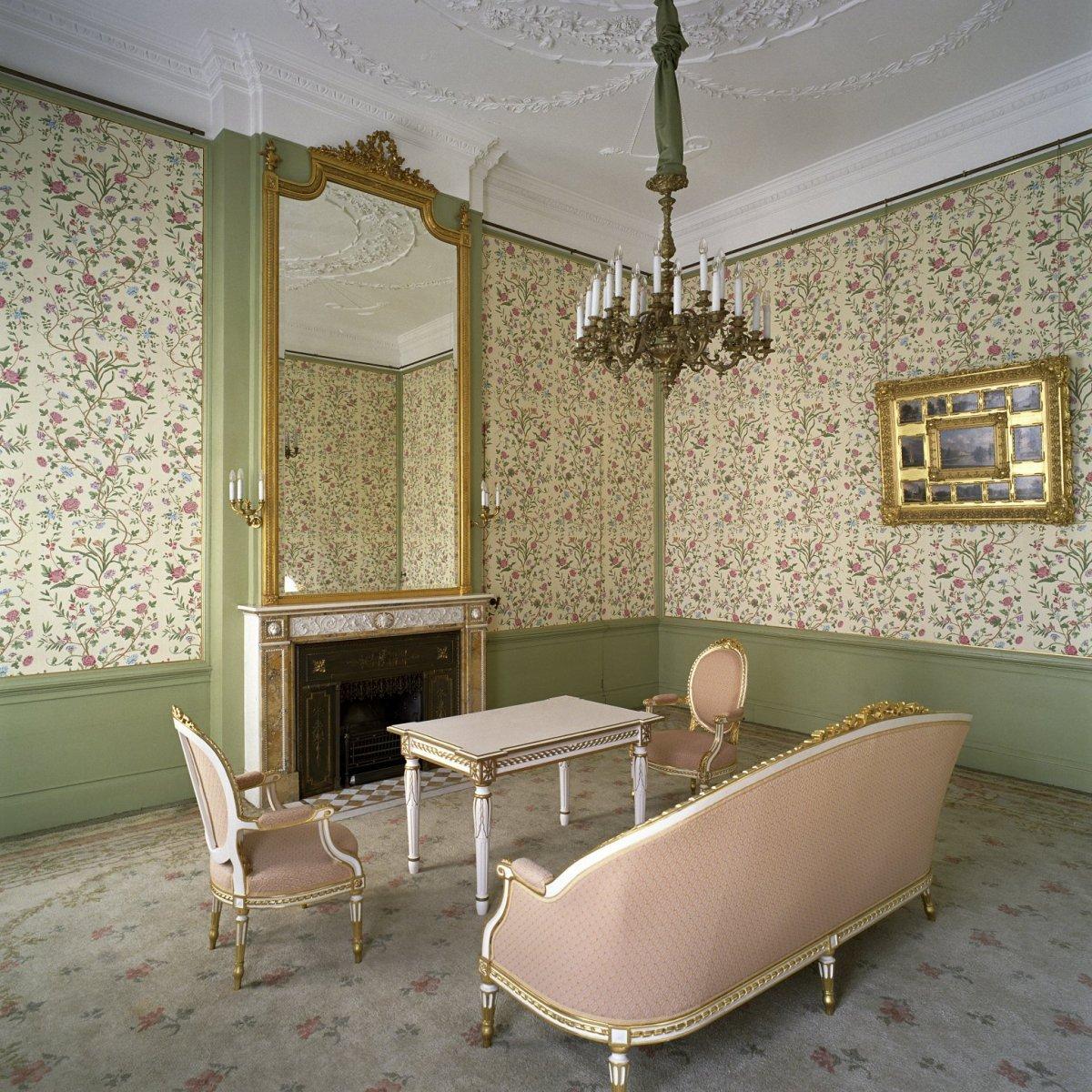 File interieur overzicht van de kamer van hare majesteit for Corps interieur