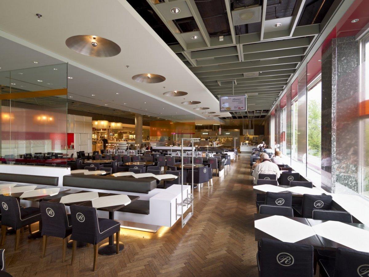 file interieur overzicht restaurant la ruche rotterdam