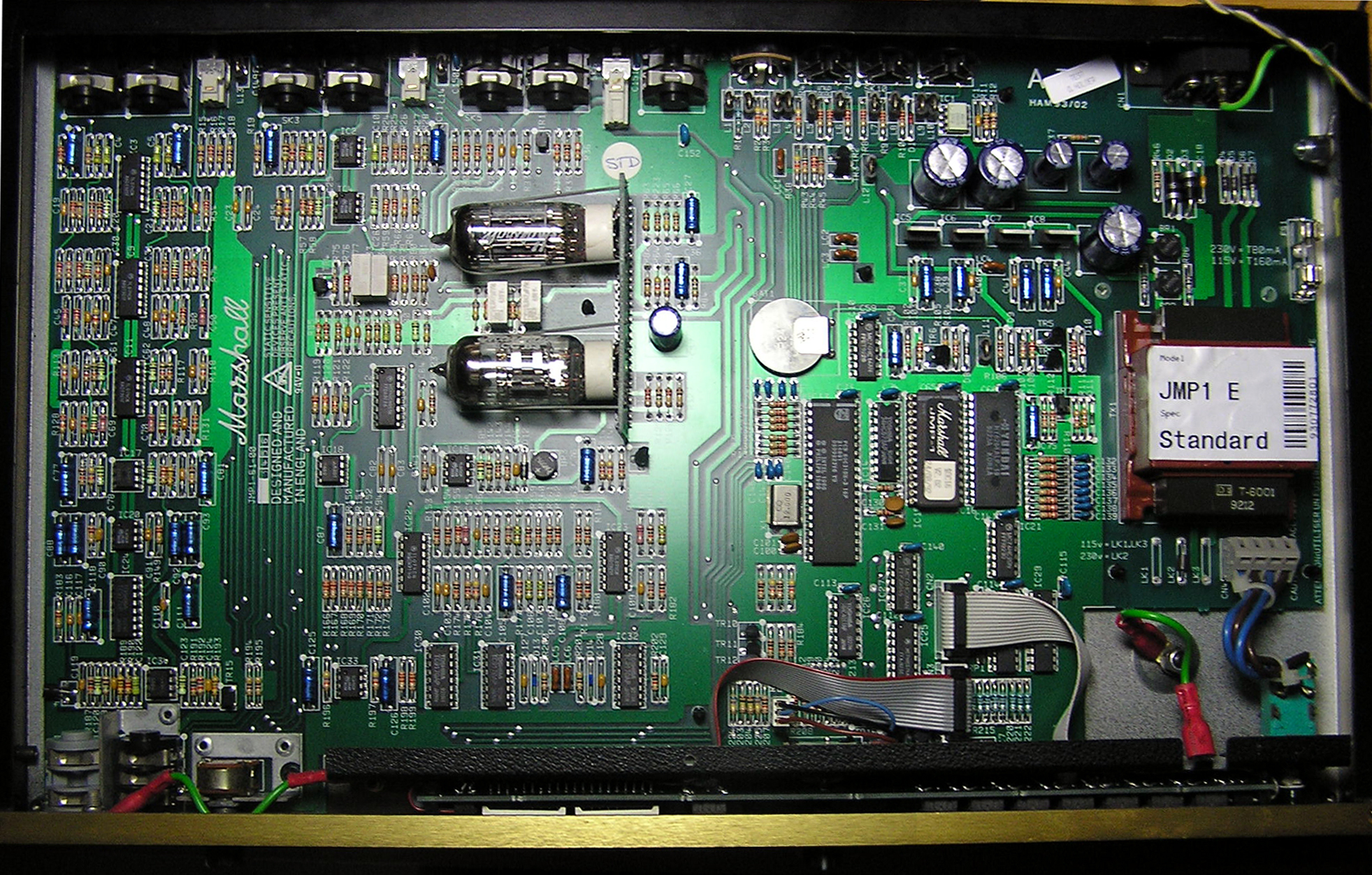JMP-1 problem  Used tubes or more serious issue