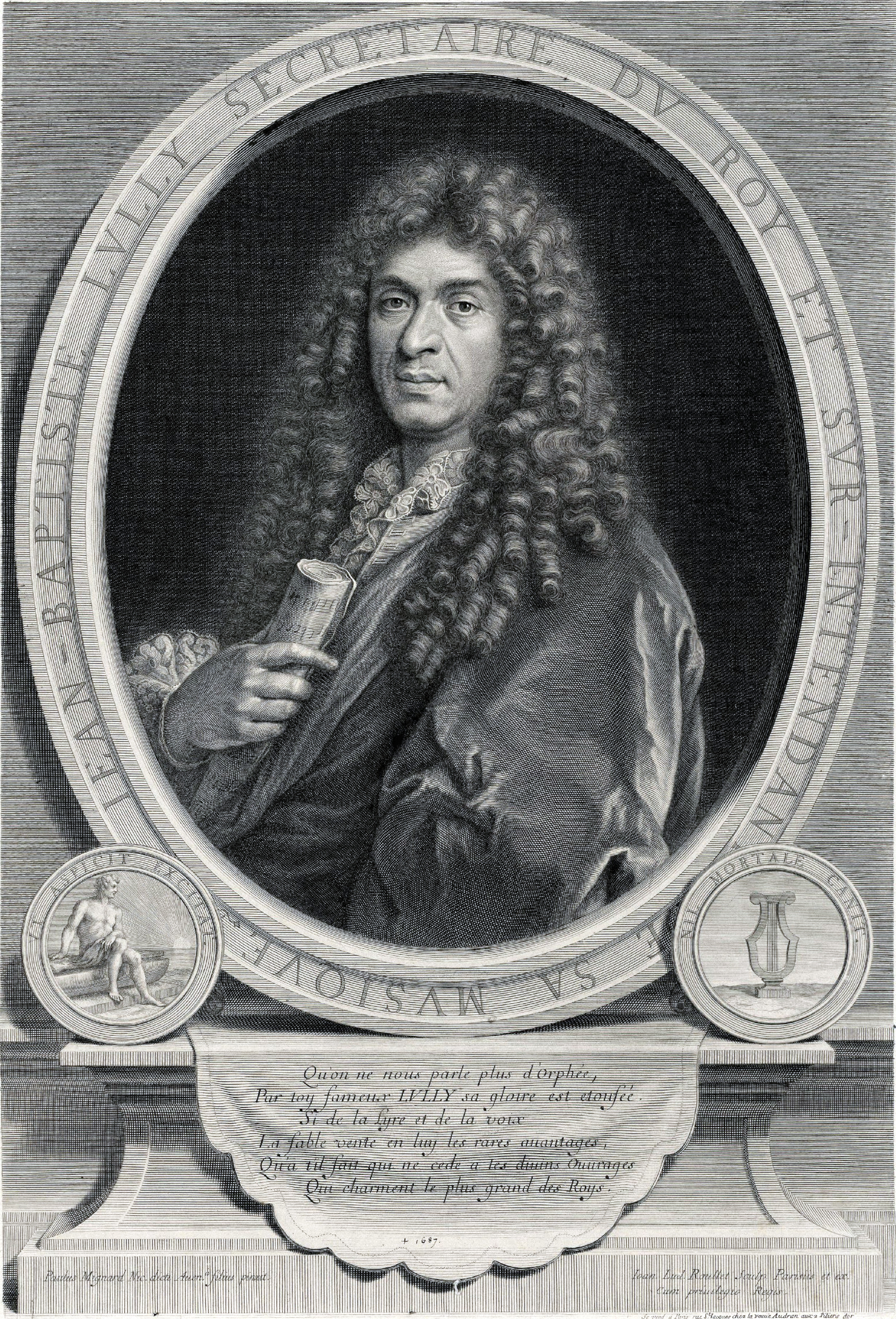 Depiction of Jean-Baptiste Lully