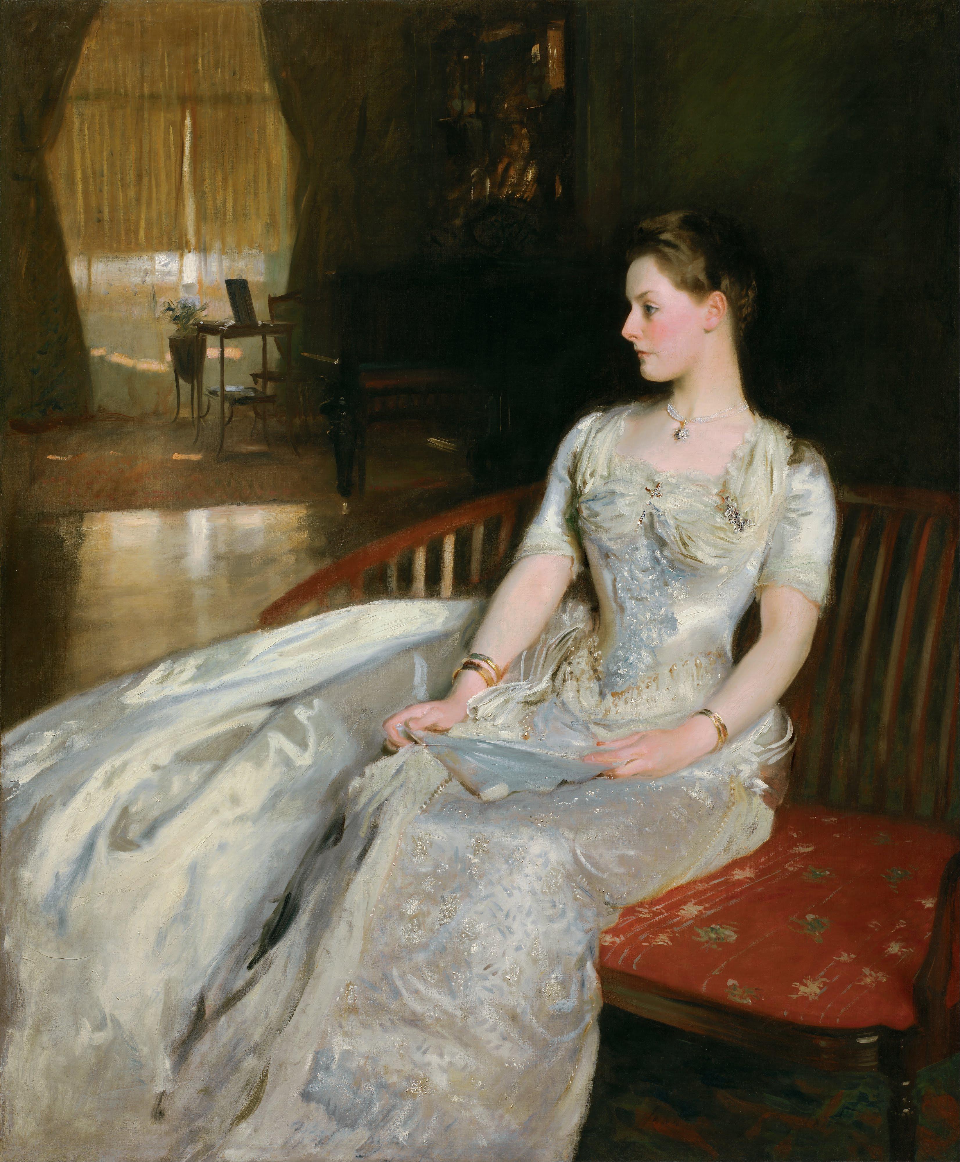 Mrs Henry White Painting