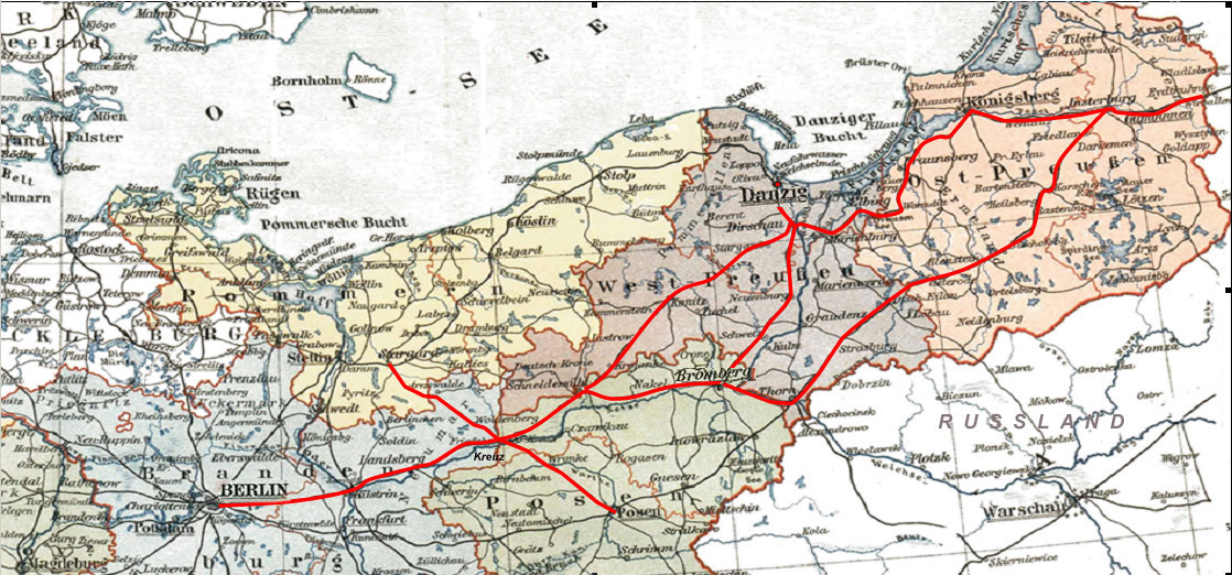 Ostbahn, [Public domain], via Wikimedia Commons