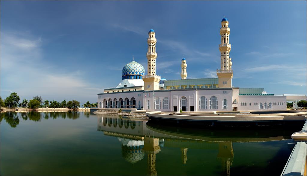 Kota Kinabalu Malaysia  city photos gallery : Description Kota Kinabalu city Mosque