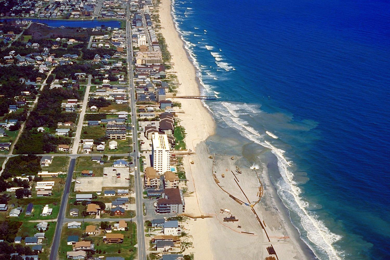Archivo Kure Beach North Carolina Aerial View Jpg
