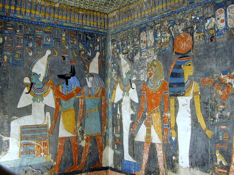 File:La tombe de Horemheb (KV.57) (Vallée des Rois Thèbes ouest) -4.jpg