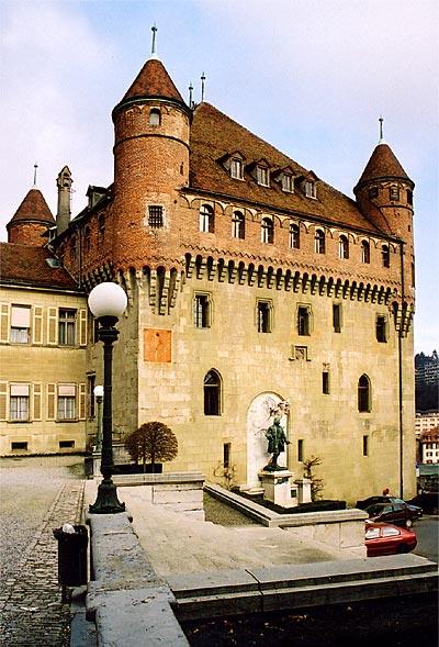 نتيجة بحث الصور عن Castle of Saint-Marie-Lausanne