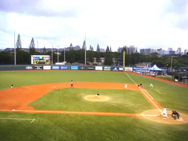 Baseball Diamond Background