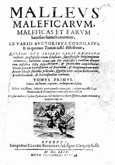 Malleus maleficarum, Lyon 1669, Titelseite.jpg