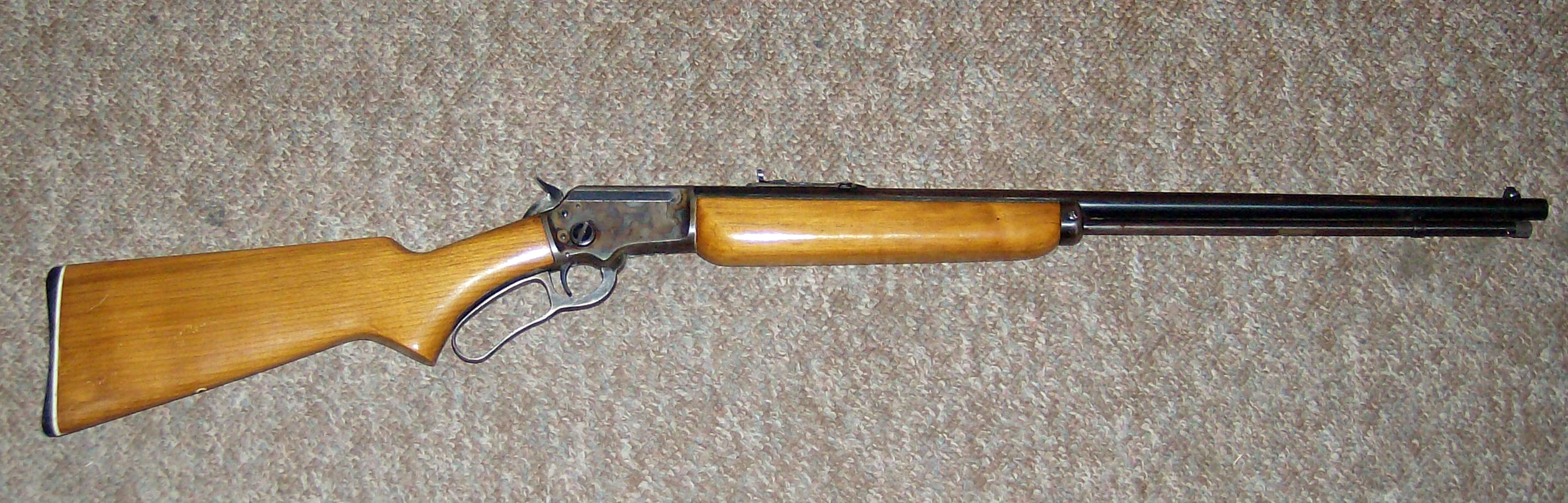 Marlin Model A Golden Mountie Witha Ring Ln The Barrel