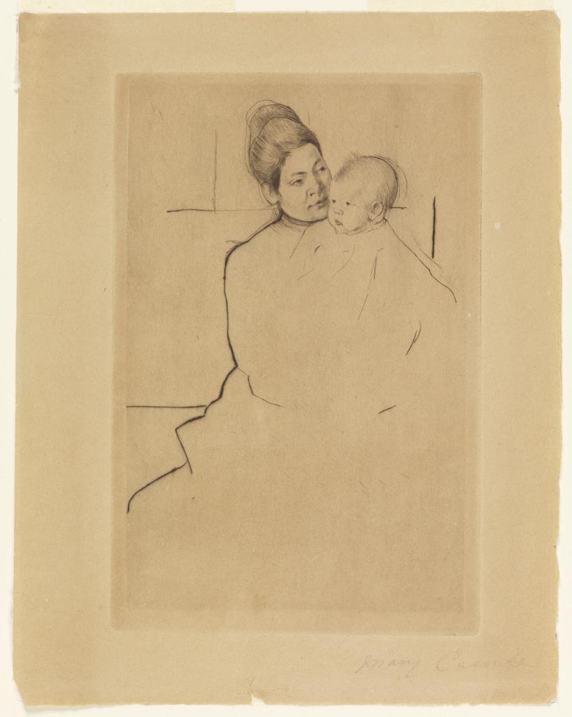 gardner cassatt held by his mother wikipedia