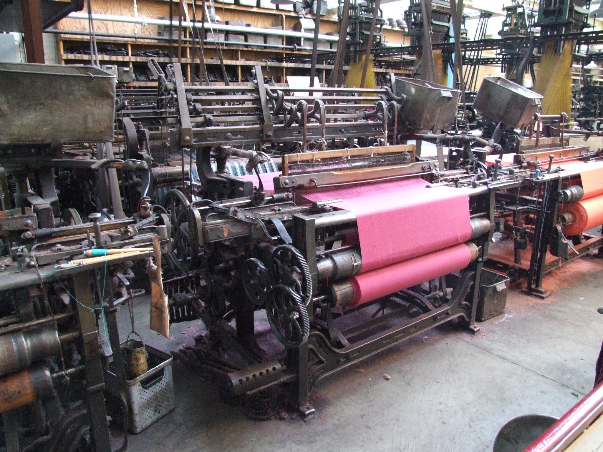 File Masson Mills Wtm 12b Power Loom 5980 Jpg Wikimedia