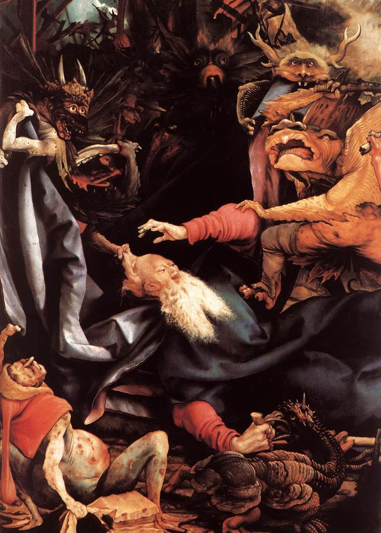 Matthias Grünewald - The Temptation of St Anthony (detail) - WGA10766.jpg