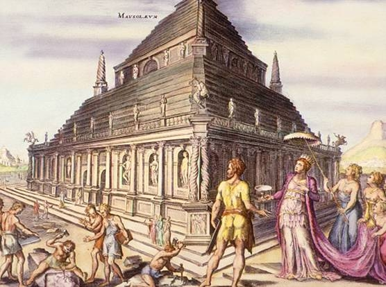 Archivo:Mausoleum of Halicarnassus.jpg