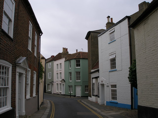 Conservation Area Whitstable Paint Colour Change