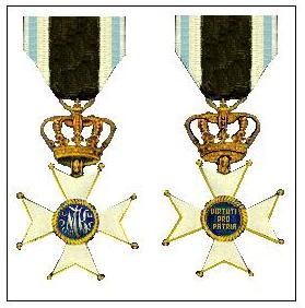 Military Order of Max Joseph award