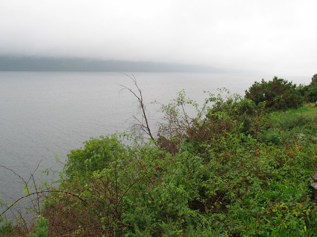 Misty day over Loch Ness - geograph.org.uk - 250770