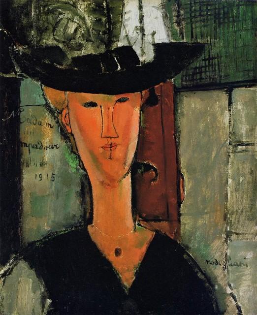 Madame Pompadour by Modigliani