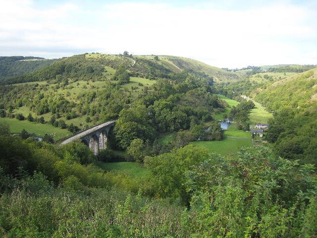 Monsal Dale and Monsal Head Viaduct - geograph.org.uk - 1081570