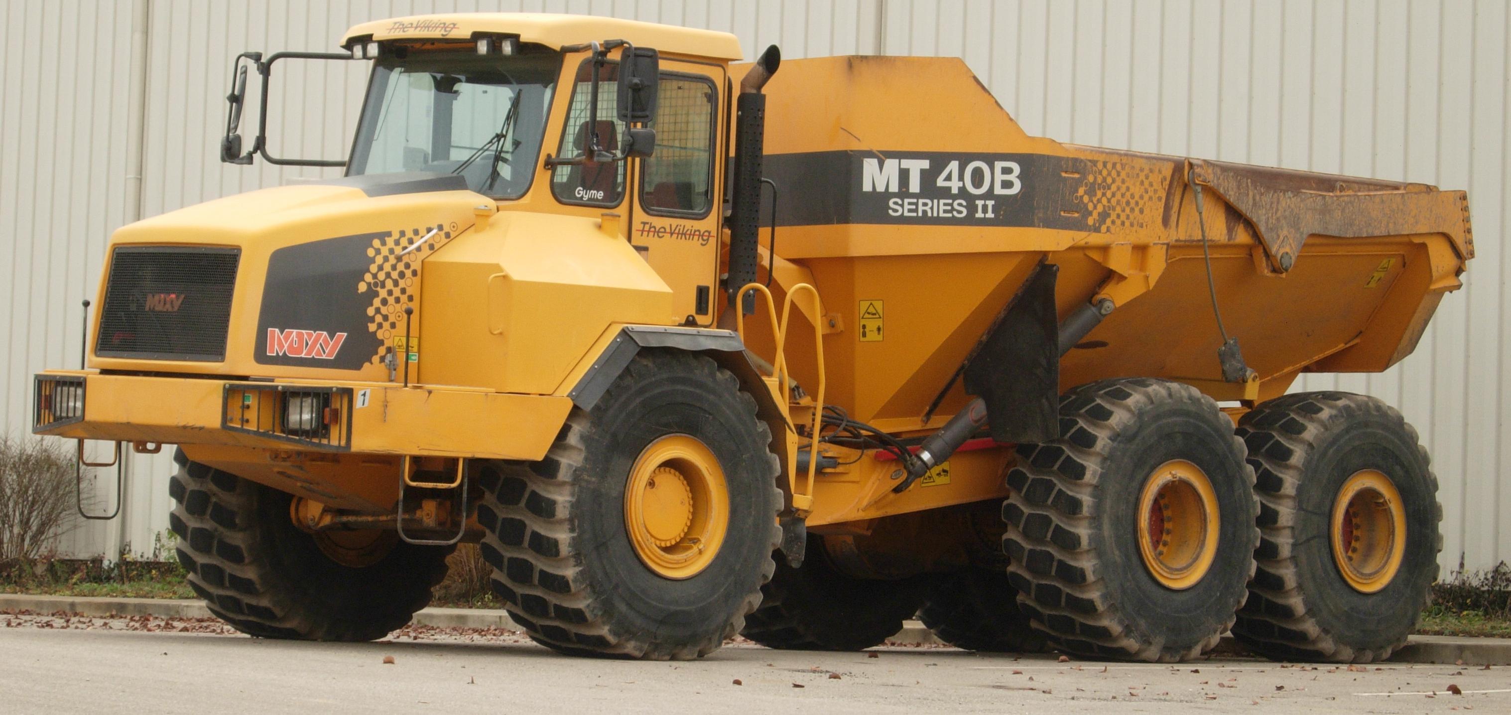 moxy  dumper tipper company Moxy_Truck