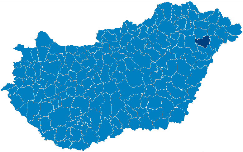 nagykálló térkép Fájl:Nagykállói kistérség.png – Wikipédia nagykálló térkép