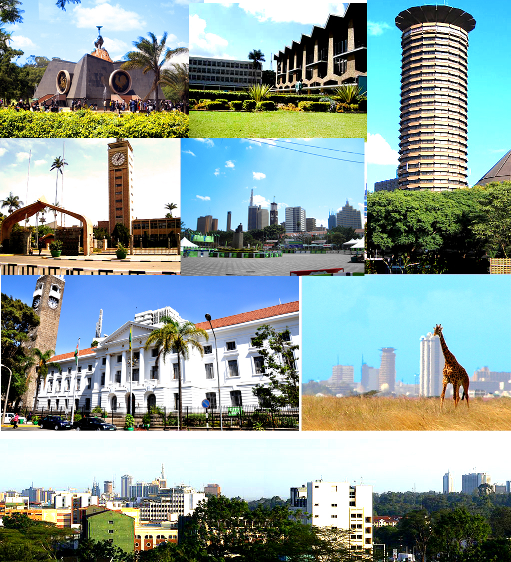 Depiction of Nairobi