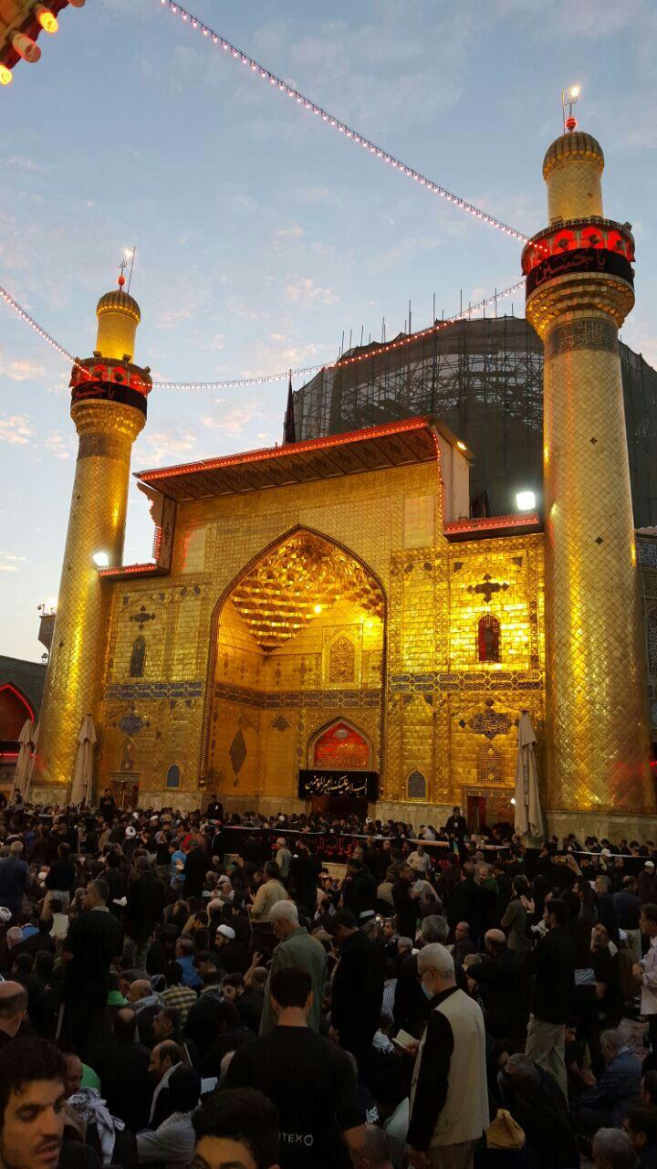 Maula Ali Shrine Wallpaper: Imam Ali Mosque
