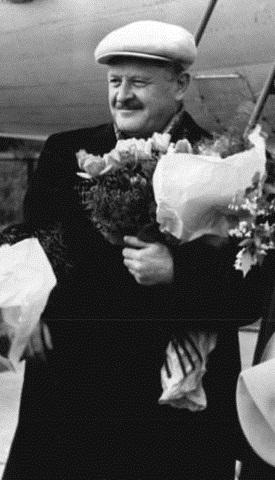 Nazim Hikmet, en 1952.