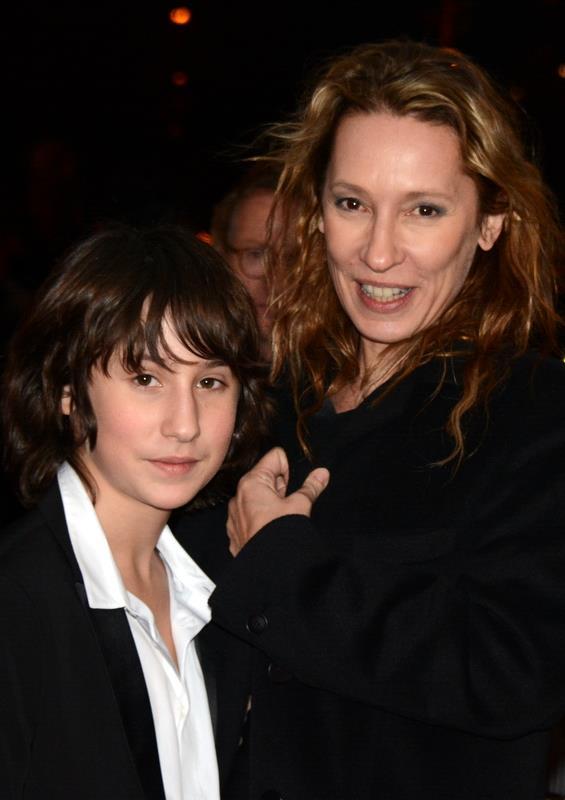 Photo of Emmanuelle Bercot  & her Son  Nemo Schiffman