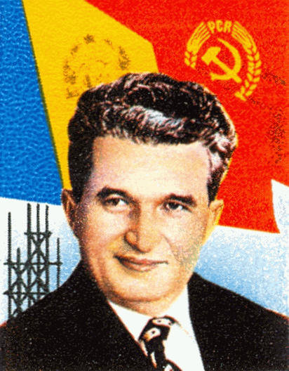 Nicolae Ceaucescu ex-dictateur de Roumanie