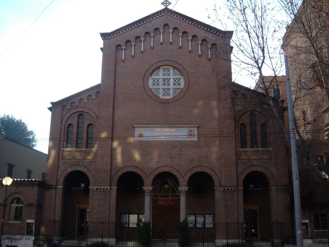 Chiesa di san giuseppe a via nomentana wikipedia for Di giuseppe arredamenti roma