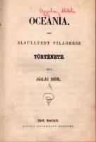 Óceánia (regény) cover