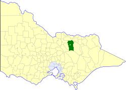 Shire of Benalla Local government area in Victoria, Australia