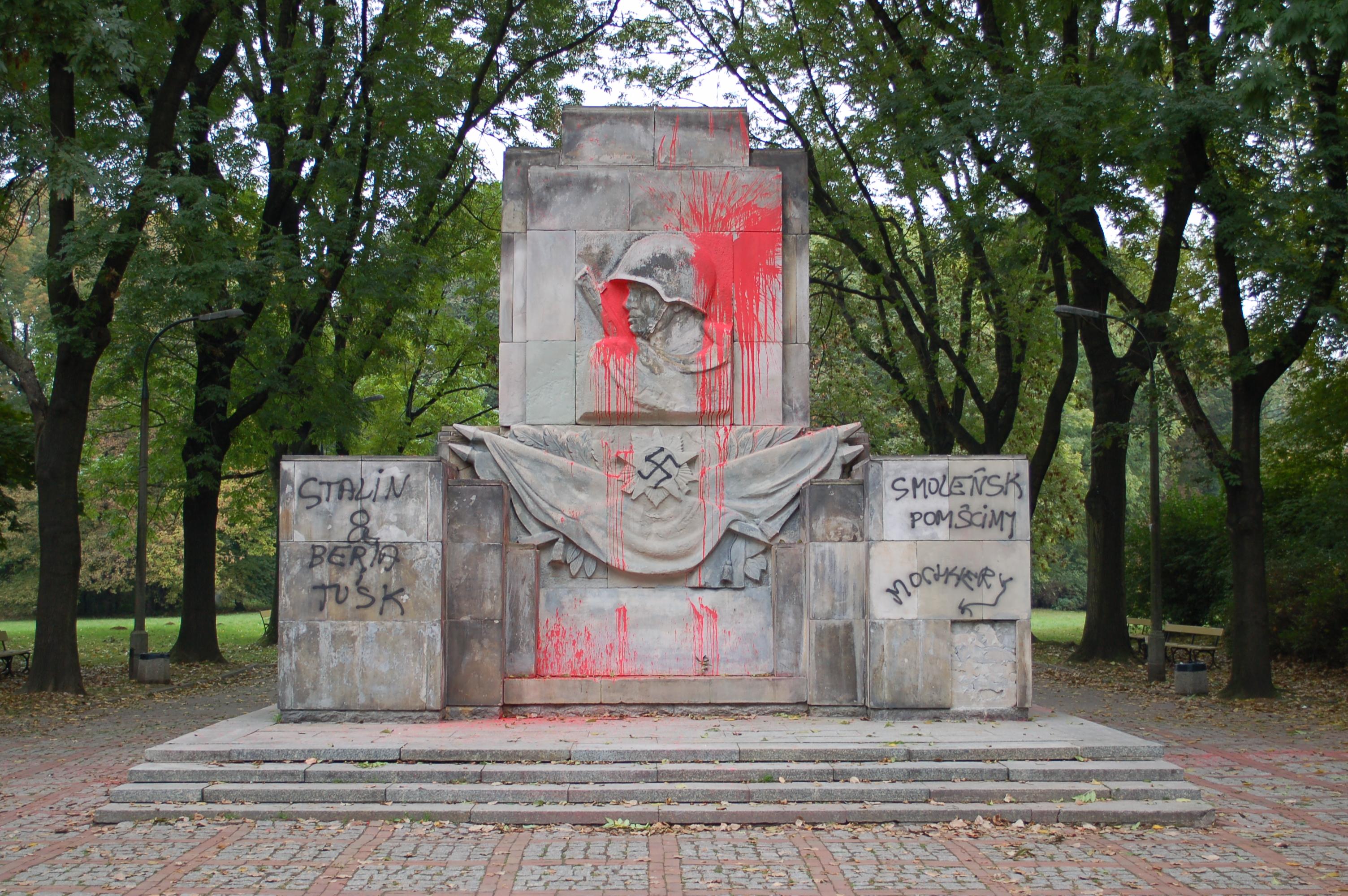 Pomnik Wdzięczności Żołnierzom Armii Radzieckiej w Warszawie