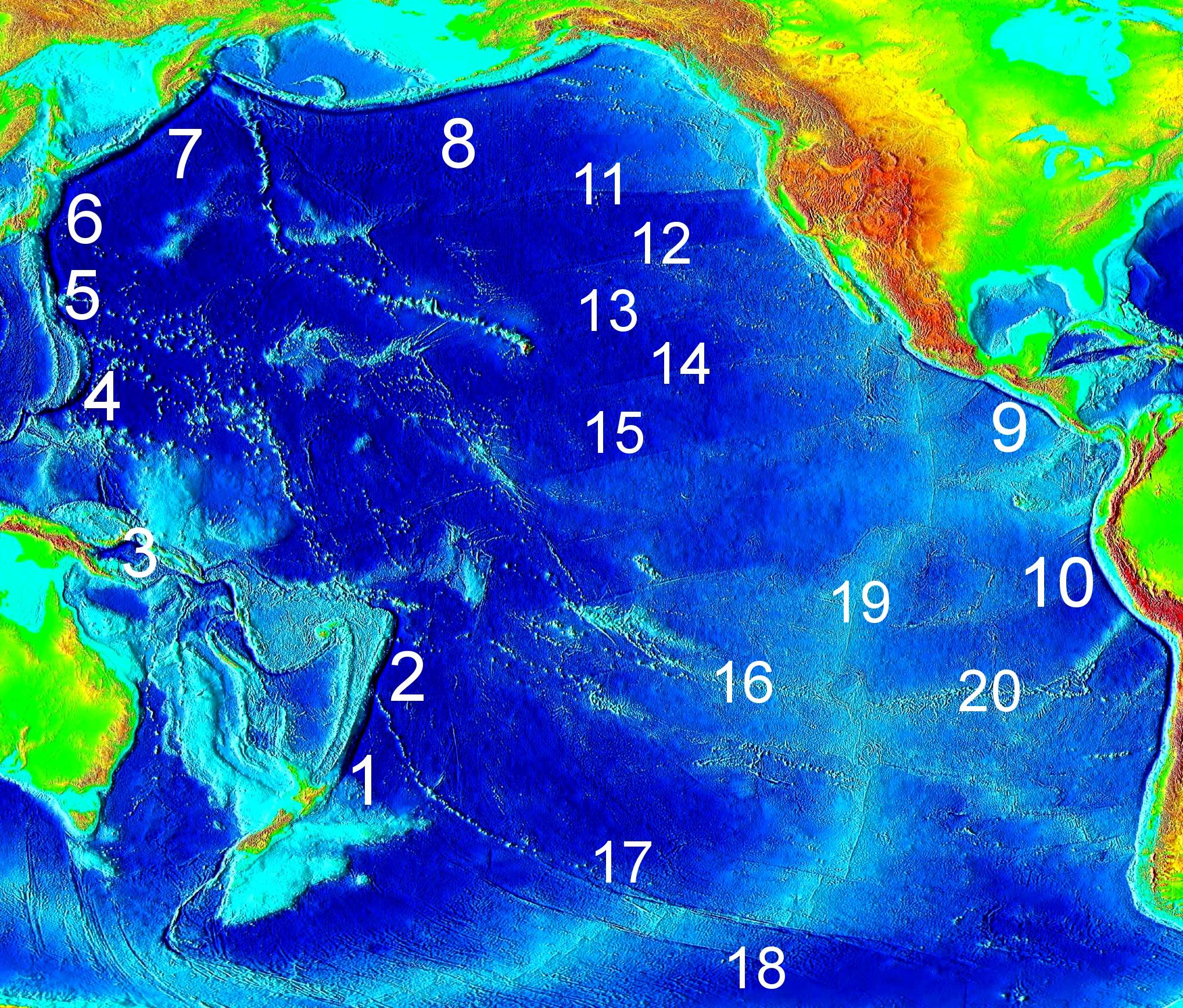 Northern Pacific Ocean On Fakebook Create A Fake Facebook - Pacific ocean depth map