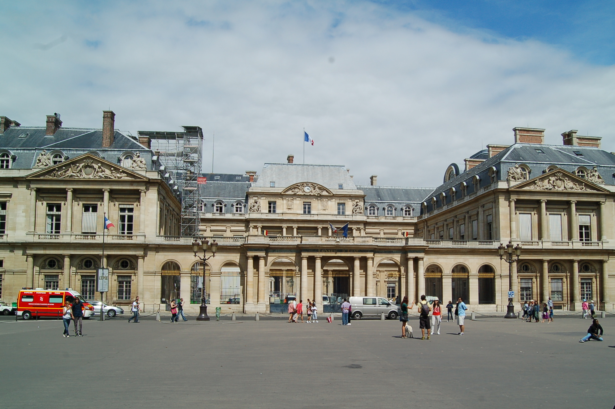 Palais royal clothing store