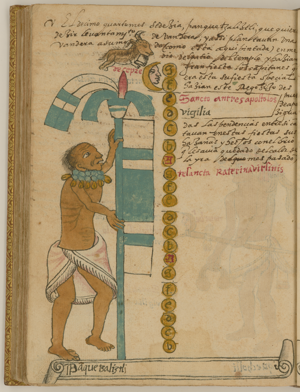 File:Panquetzaliztli, Banner Raising, the 15th Month of the Aztec