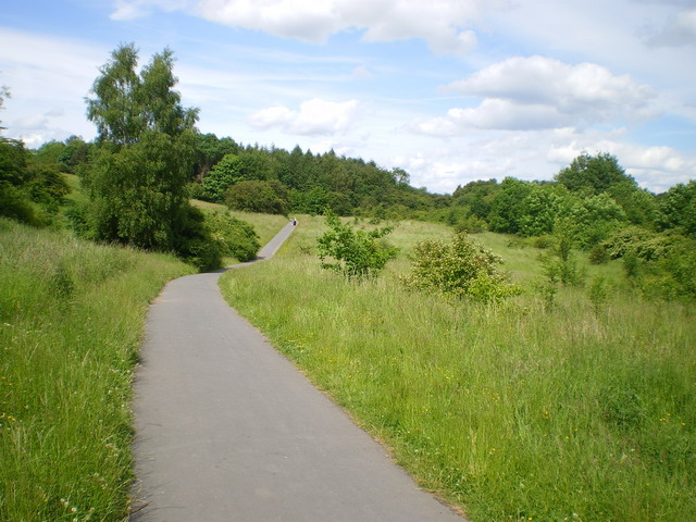 Part of The Silkin Way, Telford Town Park - geograph.org.uk - 1361276
