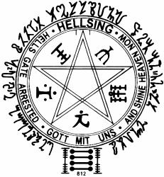 hellsing pentagram
