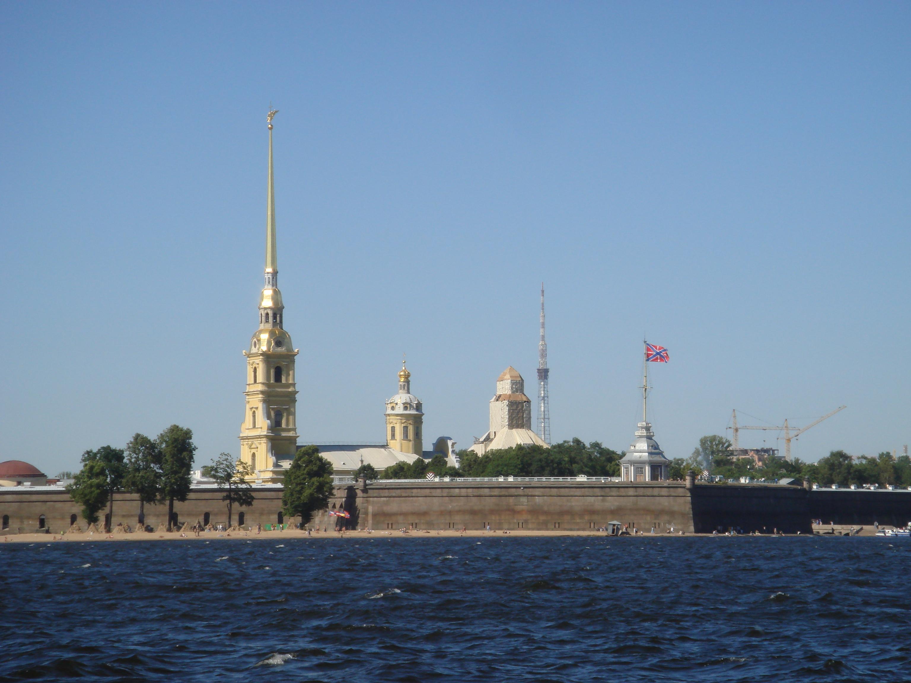 петербург петропавловская крепость фото