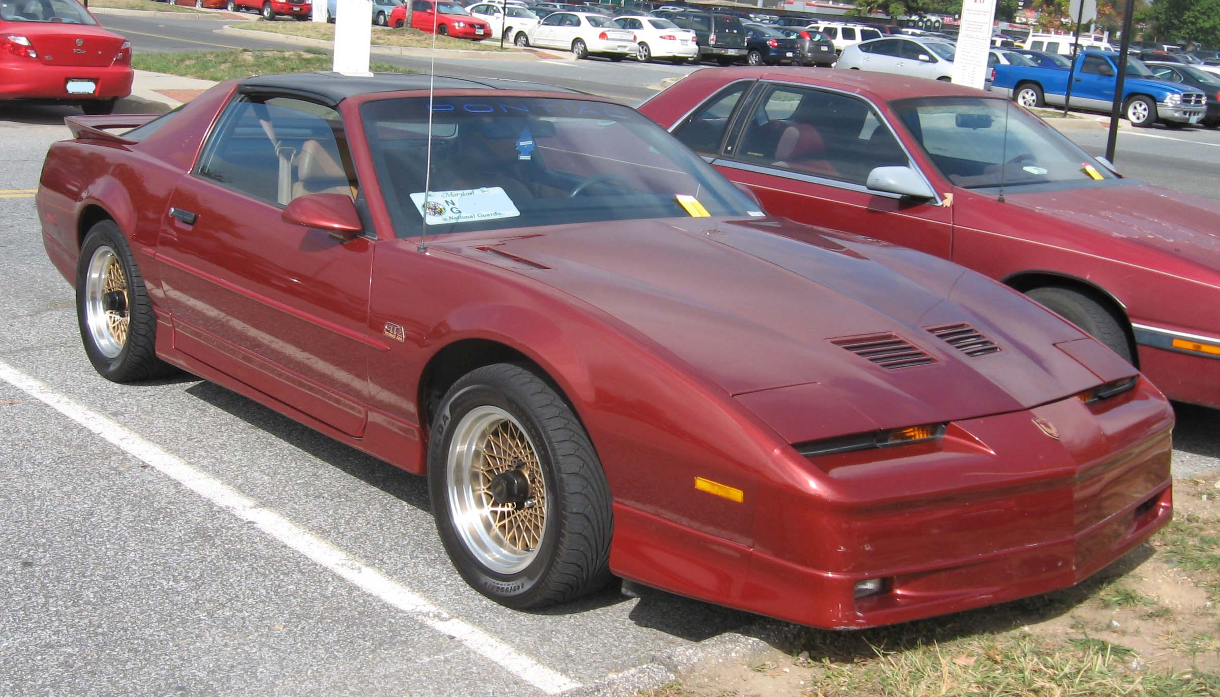 Pontiac Firebird Third Generation Wikiwand 92 Grand Am Fuse Box