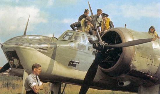 경폭격기 Bristol Blenheim