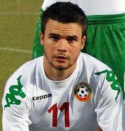 Radoslav Kirilov Bulgarian footballer