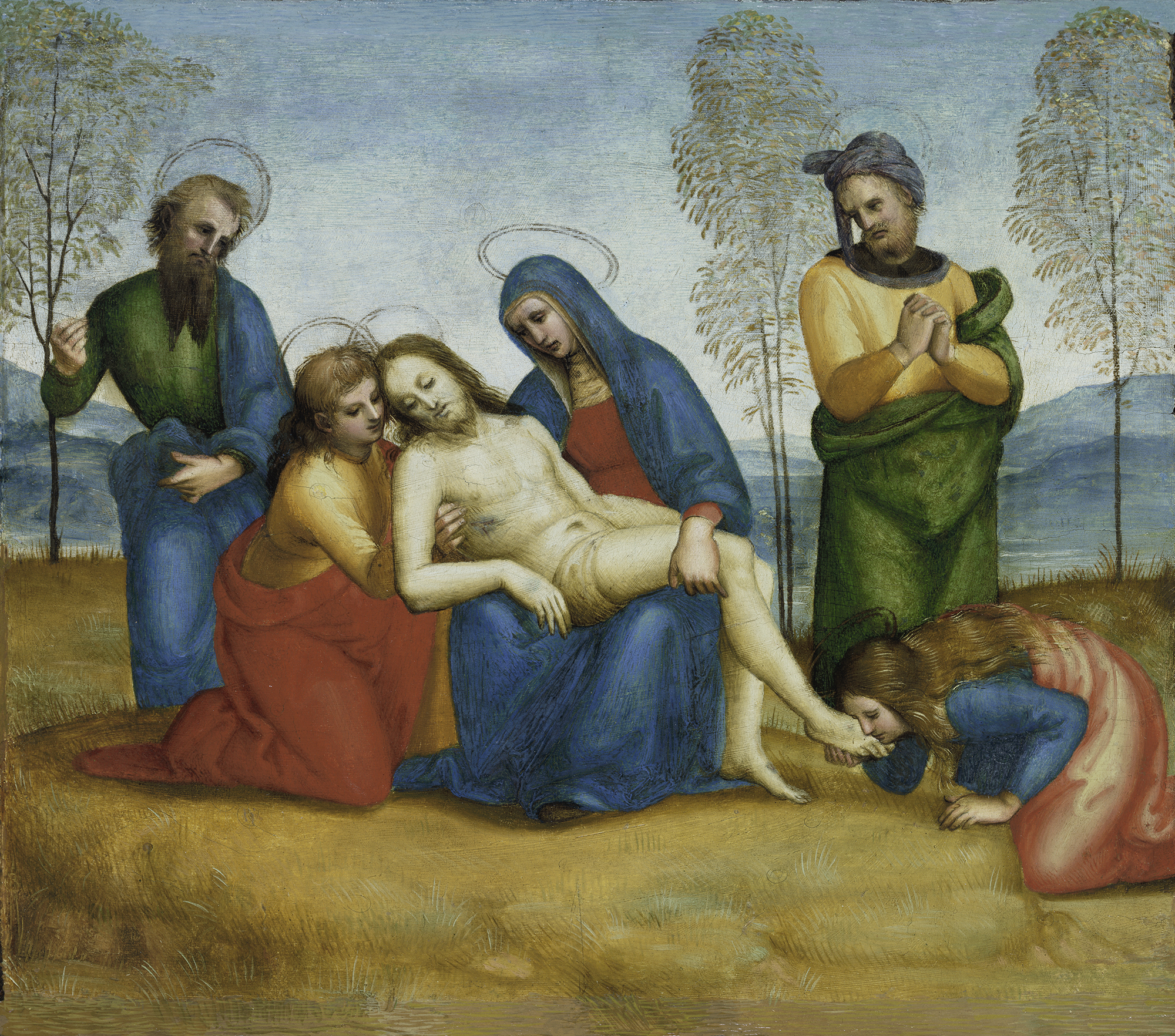 Rafaello Sanzio - Pietà, c. 1503-5